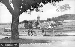Aberaeron, The Inner Harbour c.1955