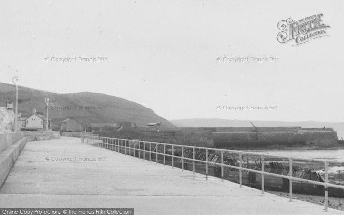 Photo of Aberaeron, The Promenade c.1955