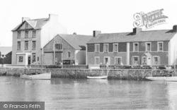 Aberaeron, The Red Lion Hotel c.1965