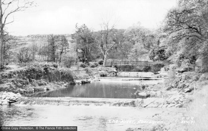 Photo of Aberaeron, The River c.1950