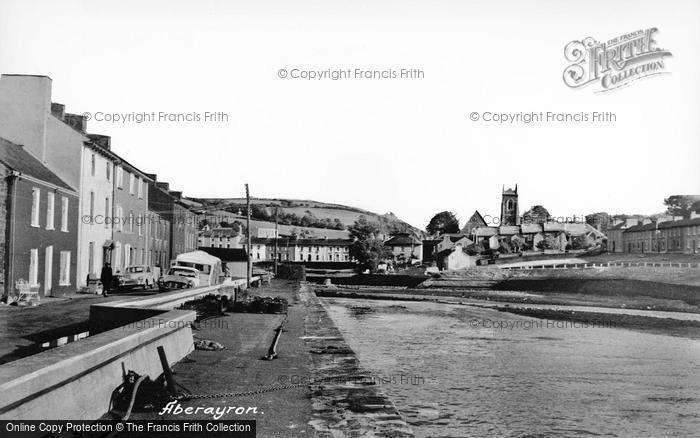 Photo of Aberaeron, The River c.1960