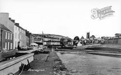 Aberaeron, The River c.1960