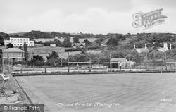Aberaeron, The Tennis Courts c.1955