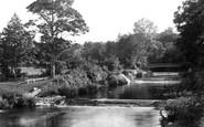 Aberaeron, The Waterfalls And Lovers' Bridge c.1950