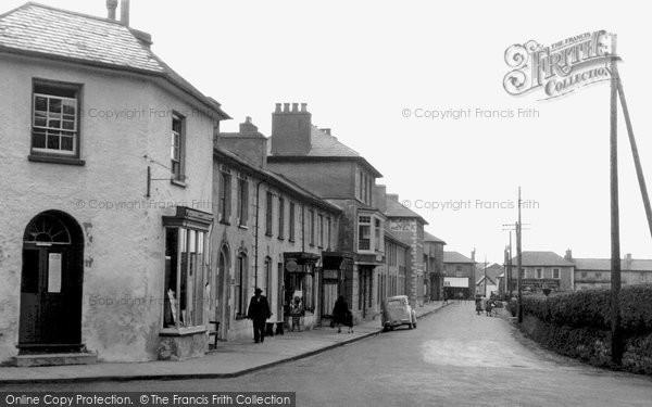Photo of Aberaeron, Town c.1955