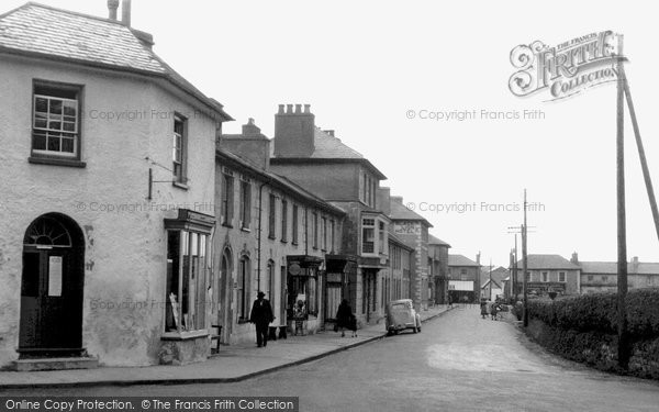 Photo of Aberaeron, Town c1955