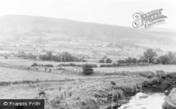 Aberaman, A View Of Cwmbach c.1964