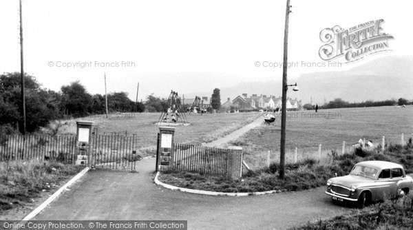 Aberaman, the Playing Fields c1955