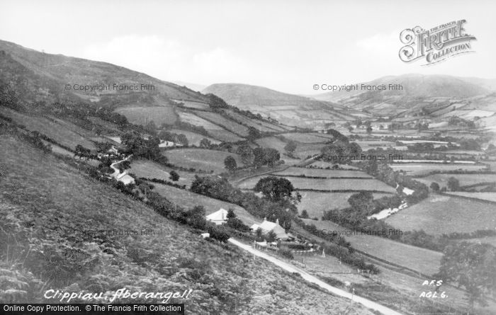 Photo of Aberangell, Clippiau c.1955
