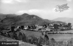 Aberangell, General View c.1955