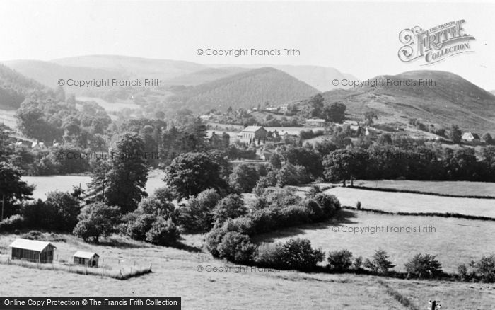 Photo of Aberangell, General View c.1955