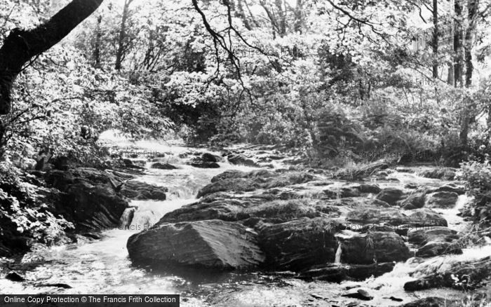 Photo of Aberangell, The Brook c.1955