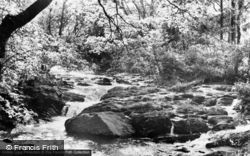 Aberangell, The Brook c.1955