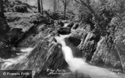 Aberangell, The Falls c.1955