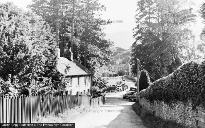 Photo of Aberangell, View From Post Office c.1955