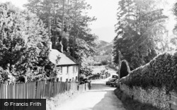 Aberangell, View From Post Office c.1955