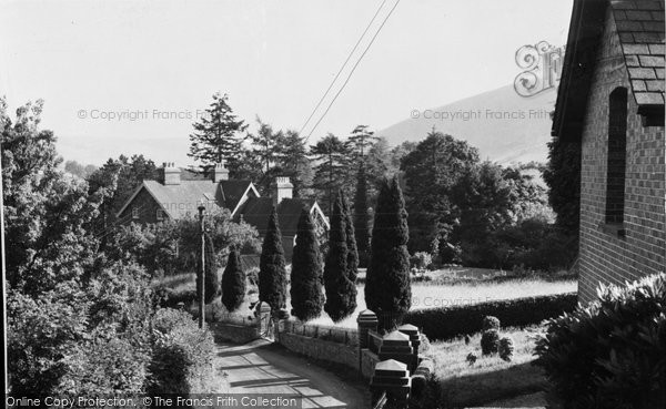 Photo of Aberangell, Village c.1955