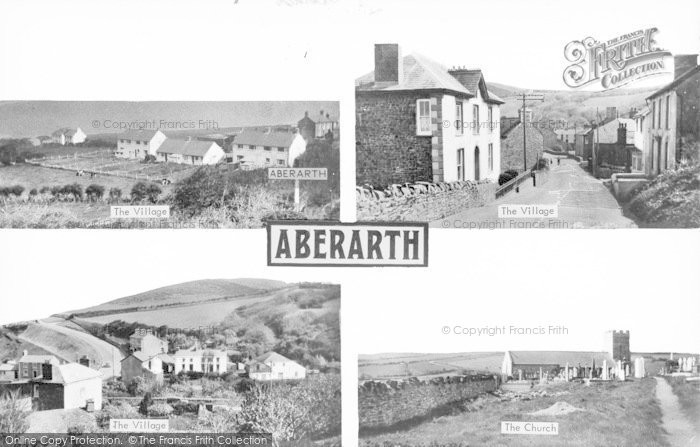 Photo of Aberarth, Composite c.1950