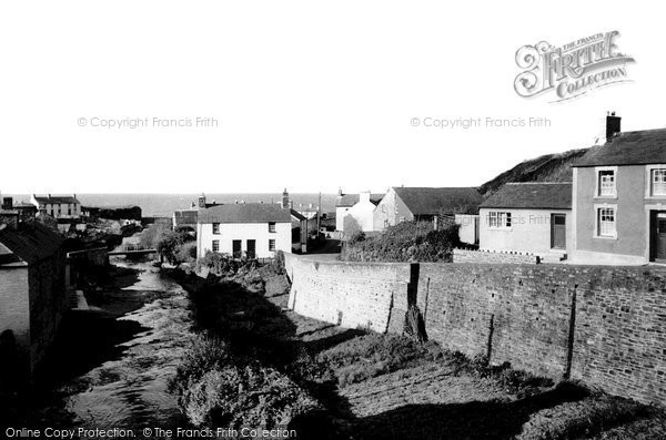 Photo of Aberarth, The River Arth c.1965