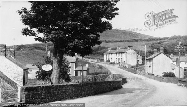 Photo of Aberarth, The Village c.1955
