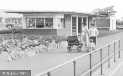 Aberavon, Mums Pushing Prams c.1965