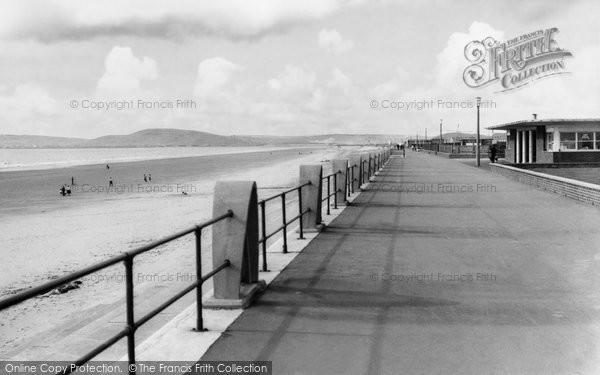 Photo of Aberavon, The Beach And Promenade c.1965