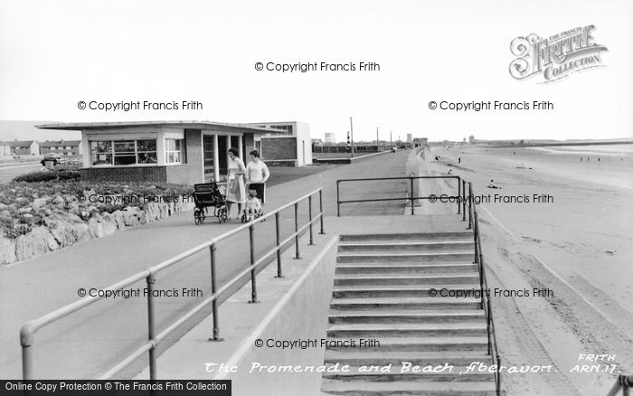 Photo of Aberavon, The Beach And Promenade c.1965