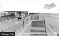 Aberavon, The Beach And Promenade c.1965