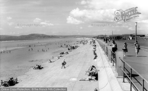Photo of Aberavon, The Beach c.1965
