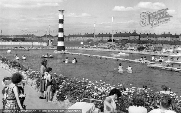 Photo of Aberavon, The Boating Lake c.1962
