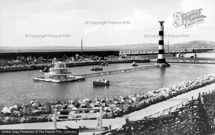 Photo of Aberavon, The Boating Lake c.1965