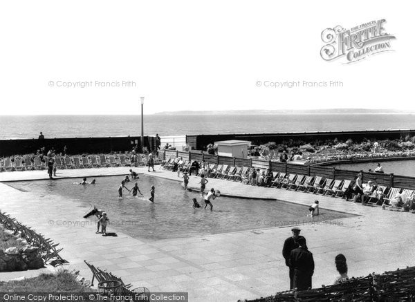 Photo of Aberavon, The Paddling Pool c.1965