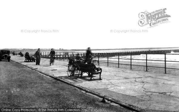 Photo of Aberavon, The Promenade 1938