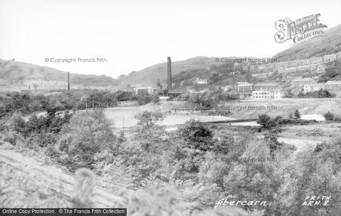 Photo of Abercarn, c.1955
