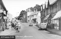 Abercarn, High Street c.1955