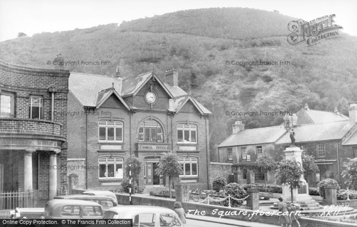 Photo of Abercarn, The Square c.1955