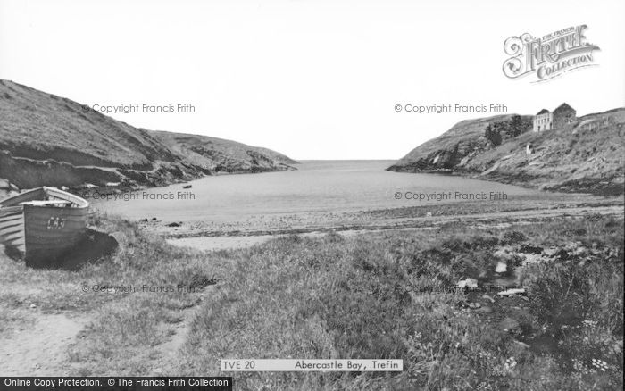 Photo of Abercastle, Bay c.1955