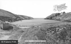 Abercastle, Bay c.1955