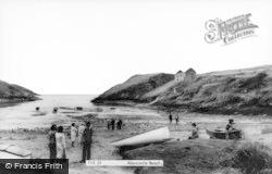 Abercastle, Beach c.1955