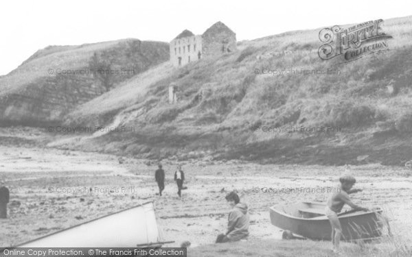 Photo of Abercastle, On The Beach c.1955