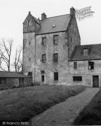 Aberchirder, Kinnairdy Castle 1961