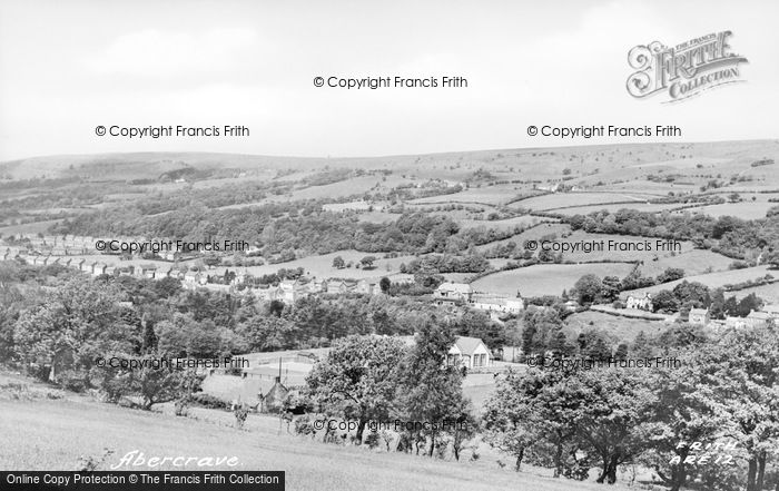 Photo of Abercraf, c.1950