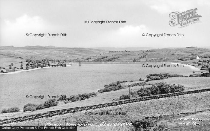 Photo of Abercraf, Cray Reservoir c.1950