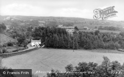 Abercraf, From Abercrave Inn c.1955