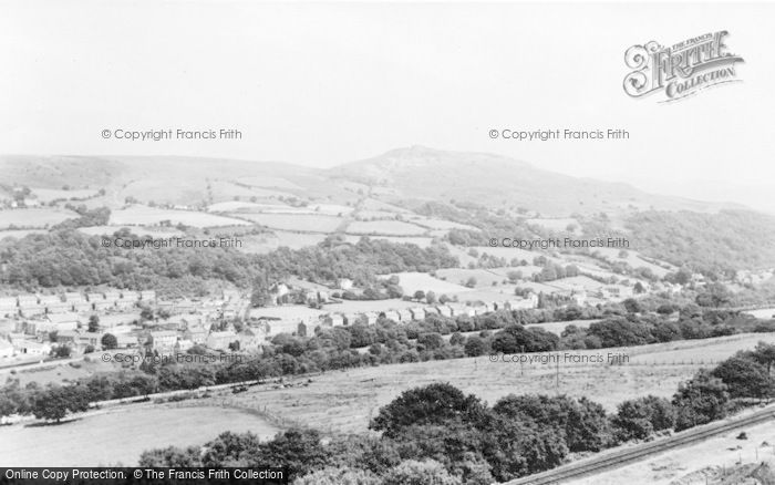 Photo of Abercraf, General View c.1955