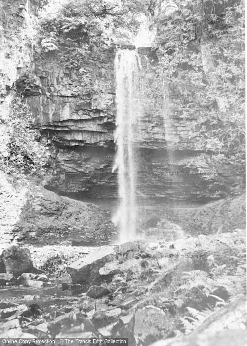 Photo of Abercraf, Graig Llech Falls c.1955