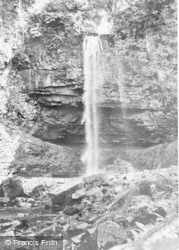 Abercraf, Graig Llech Falls c.1955