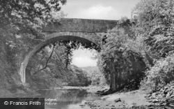 Abercraf, Pont-Y-Yard Bridge c.1950