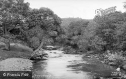Abercraf, River Tawe c.1950
