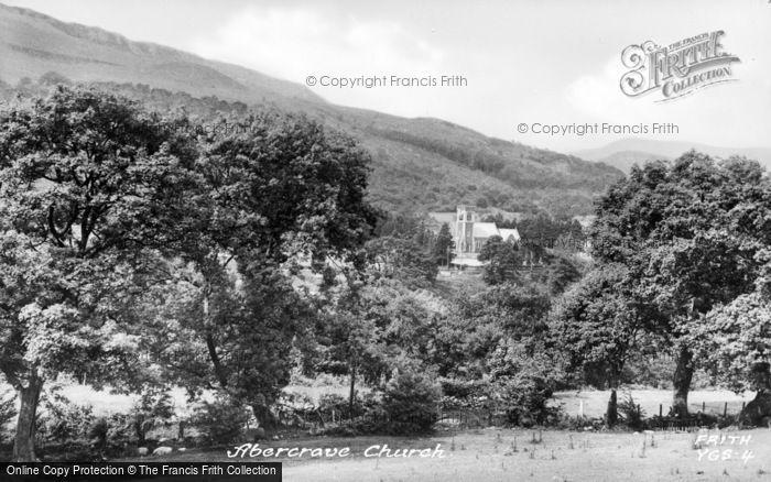 Photo of Abercraf, St David's Church c.1955